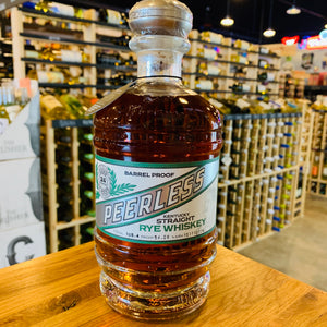 PEERLESS BARREL PROOF RYE WHISKEY 750ML