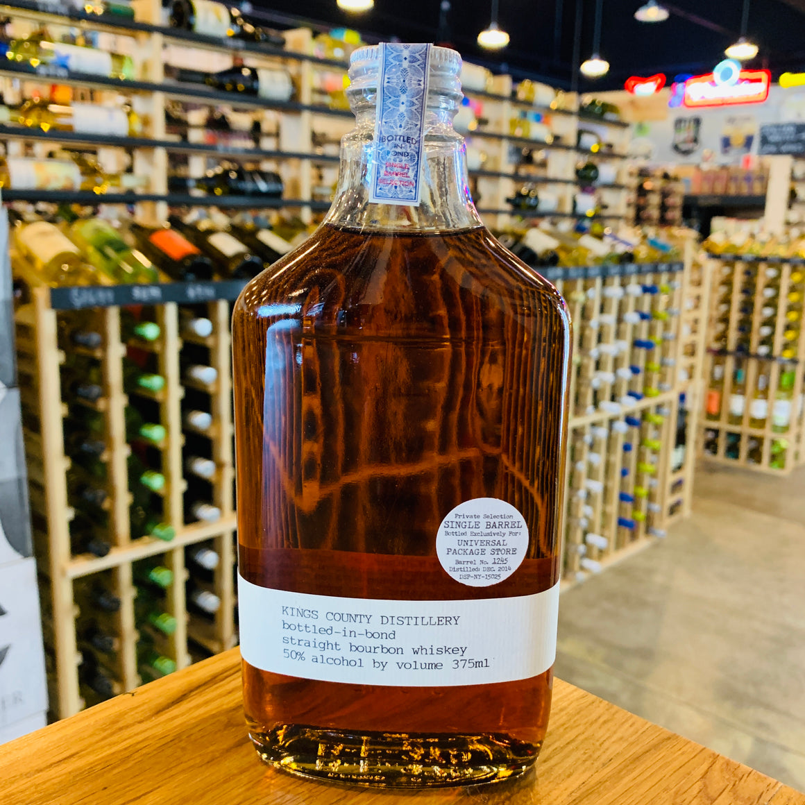 KINGS COUNTY BOTTLED IN BOND BOURBON PRIVATE BARREL 375ML
