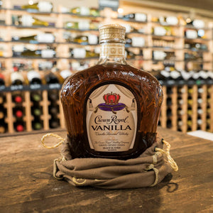 CROWN ROYAL VANILLA BLENDED CANADIAN WHISKY 750ML
