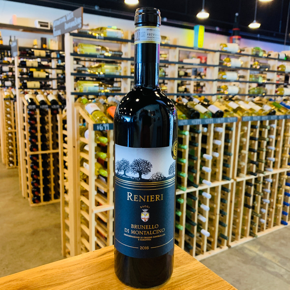 RENIERI BRUNELLO DI MONTALCINO 2016 750ML
