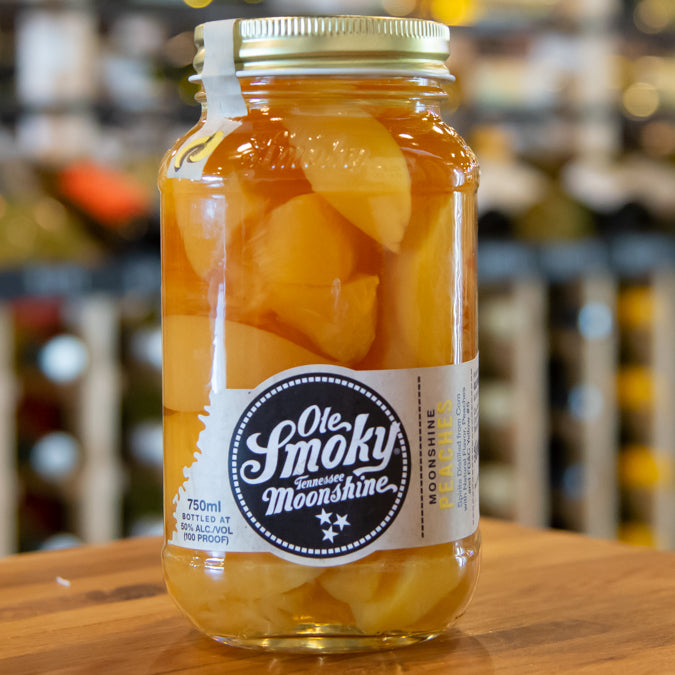 OLE SMOKY MOONSHINE PEACHES 750ML