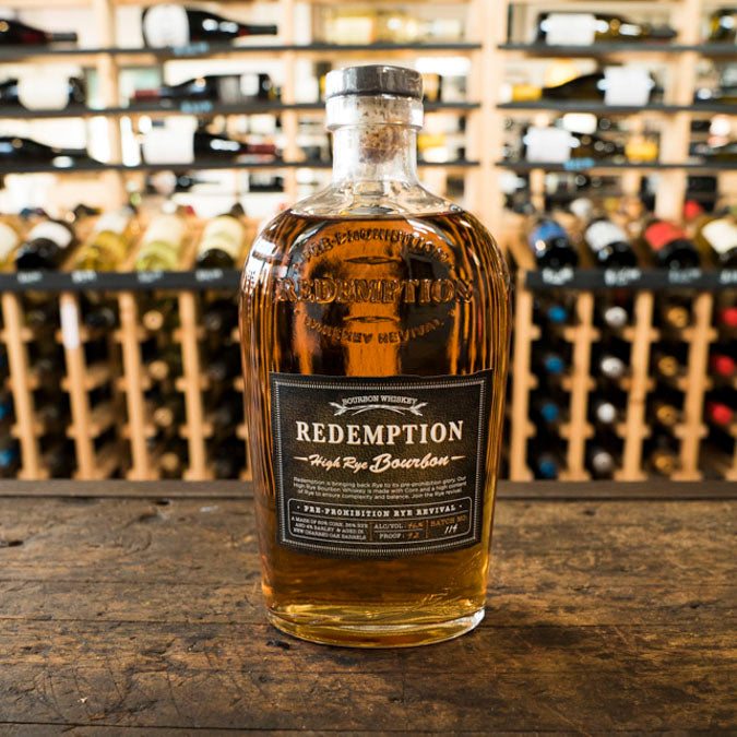 REDEMPTION HIGH RYE BOURBON 750ML