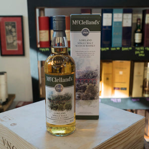 MCCLELLAND LOWLAND SINGLE MALT SCOTCH 750ML