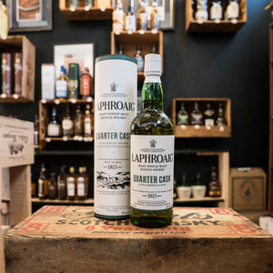 LAPHROAIG QUARTER CASK ISLAY SINGLE MALT SCOTCH 750ML
