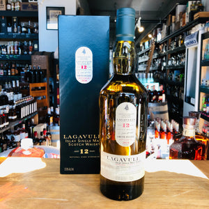 LAGAVULIN 12 YEAR CASK STRENGTH ISLAY SINGLE MALT SCOTCH 750ML