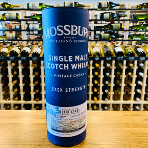 MOSSBURN CASK STRENGTH SINGLE MALT SCOTCH 10 YEAR 750ML