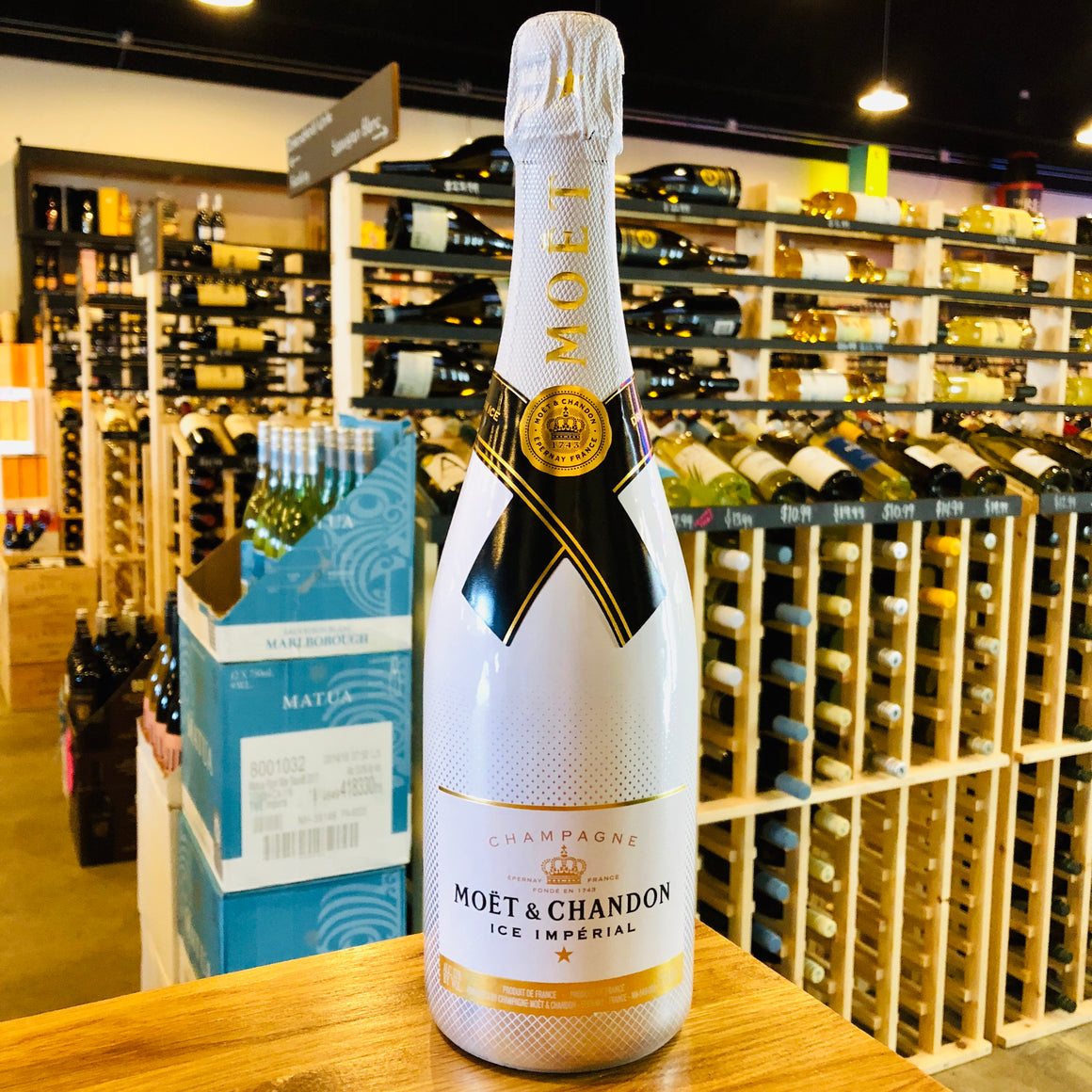 MOET & CHANDON ICE IMPERIAL CHAMPAGNE 750ML