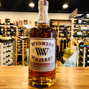 WYOMING DOUBLE CASK WHISKEY 750ML