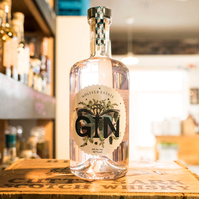 WOLFFER ESTATE PINK GIN 750ML