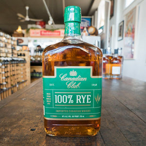 CANADIAN CLUB 100% RYE 750ML