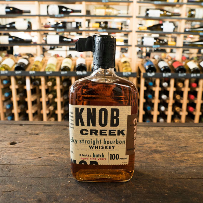 KNOB CREEK BOURBON 100 PROOF 750ML