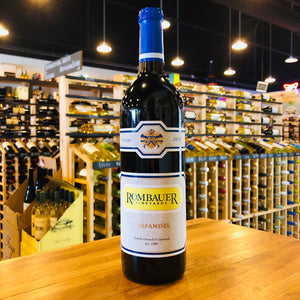 ROMBAUER VINEYARDS ZINFANDEL 2018 750ML