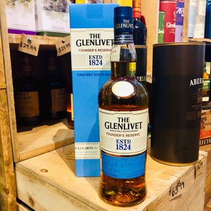 THE GLENLIVET FOUNDER'S RESERVE 750ML