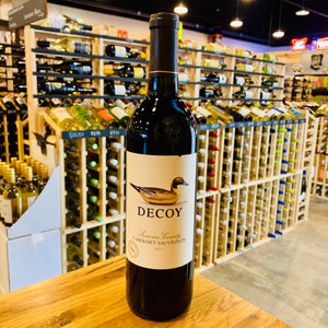DECOY SONOMA COUNTY CABERNET SAUVIGNON 2017 750ML