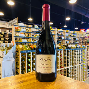 CAMBRIA BARBARA'S CLONE 667 PINOT NOIR 2013 750ML