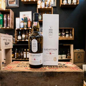 LAGAVULIN 8 YEAR ISLAY SINGLE MALT SCOTCH 750ML