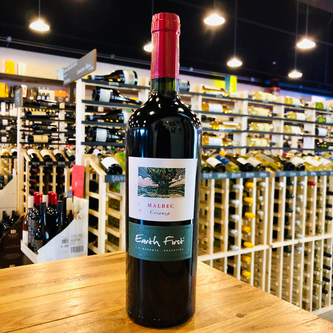 EARTH FIRST CRIANZA MALBEC 2018 750ML