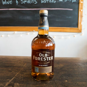 OLD FORESTER STRAIGHT BOURBON WHISKY 86 PROOF 750ML
