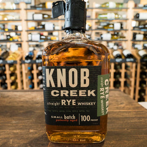 KNOB CREEK RYE WHISKEY 100 PROOF 750ML