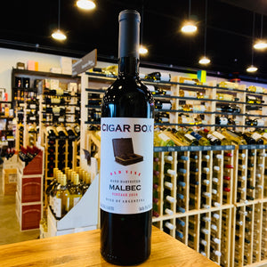 CIGAR BOX OLD VINE MALBEC 2018 750ML