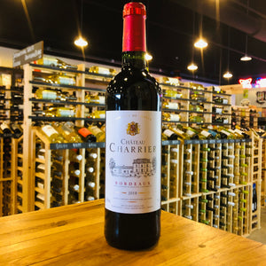 CHATEAU CHARRIER BORDEAUX ROUGE 2018 750ML