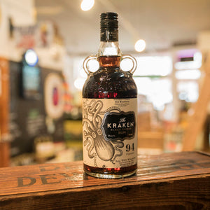 THE KRAKEN BLACK SPICED RUM 94 PROOF 750ML