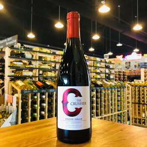 THE CRUSHER PETITE SYRAH 2017 750ML