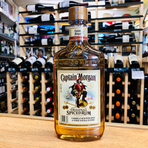 CAPTAIN MORGAN SPICED RUM FLASK 375ML