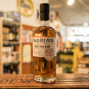 MAD RIVER FIRST RUN RUM 750ML