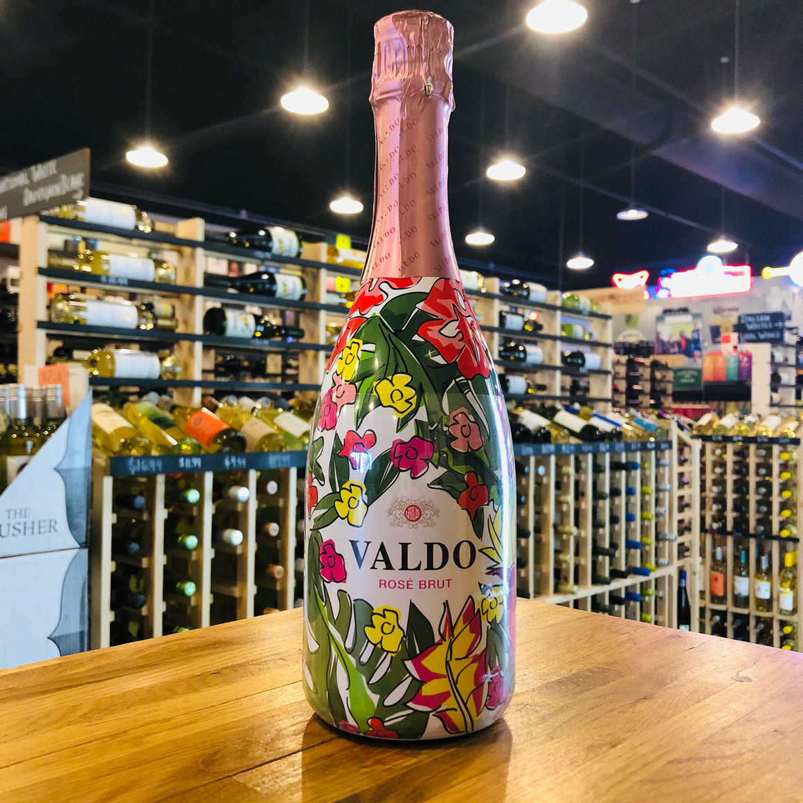 VALDO BRUT ROSE FLORAL NV 750ML
