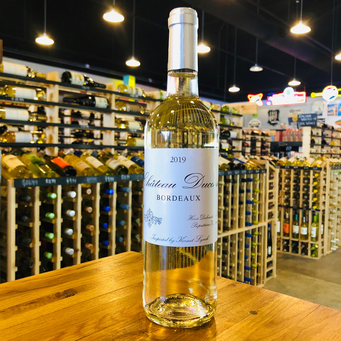 CHATEAU DUCASSE BORDEAUX BLANC 2019 750ML