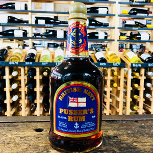 BRITISH NAVY PUSSER'S 84 PROOF RUM 750ML