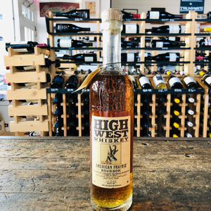 HIGH WEST AMERICAN PRAIRIE BOURBON 750ML