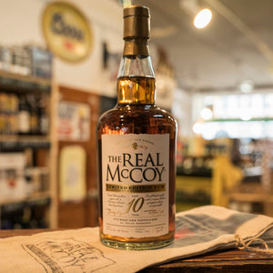 THE REAL MCCOY 10YR RUM 750ML