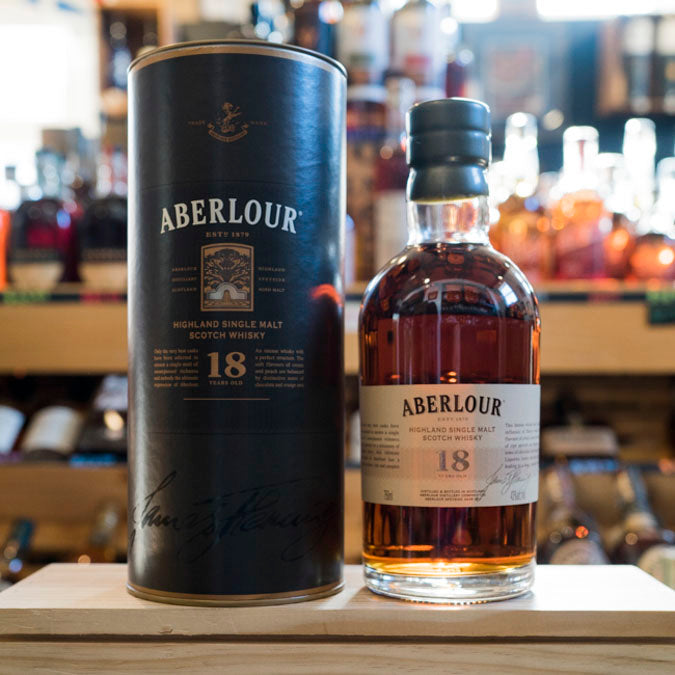 ABERLOUR 18 YEAR HIGHLAND SCOTCH 750ML