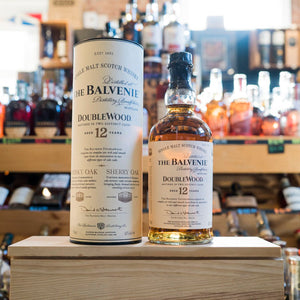 THE BALVENIE 12 YEAR DOUBLEWOOD SINGLE MALT SCOTCH 750ML