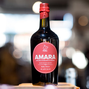 AMARA ROSSA BLOOD ORANGE LIQUER 750ML