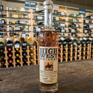 HIGH WEST RENDEZVOUS RYE 375ML