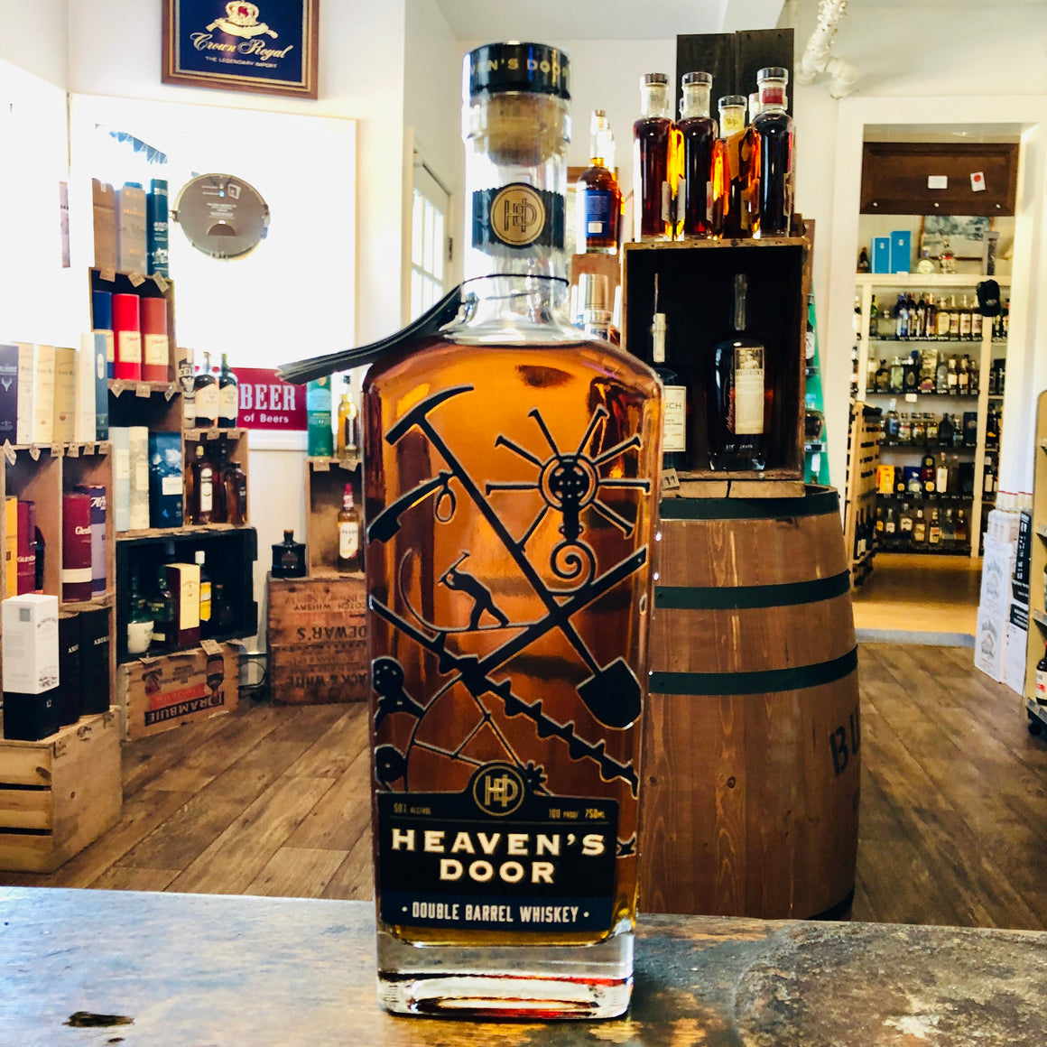 HEAVEN'S DOOR DOUBLE BARREL WHISKEY 750ML