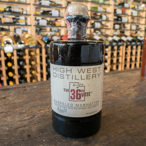 HIGH WEST BARRELED MANHATTAN 750ML