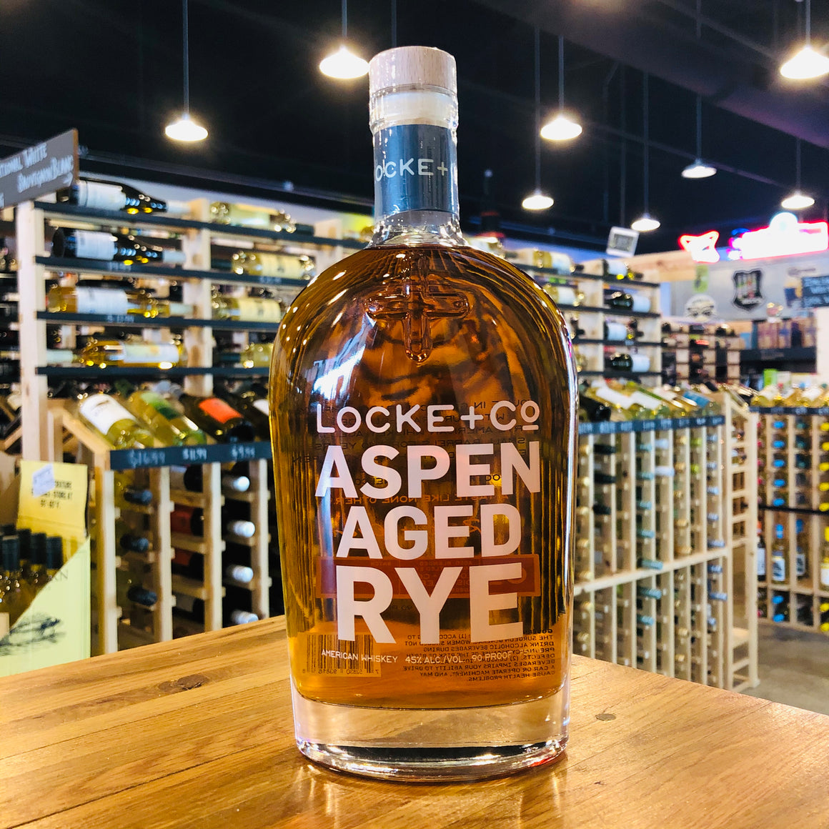 LOCKE + CO ASPEN AGED RYE 750ML