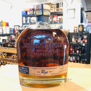 REDEMPTION 10 YEAR BARREL PROOF RYE 750ML