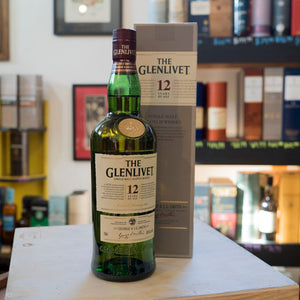 THE GLENLIVET 12 YEAR SINGLE MALT SCOTCH 750ML