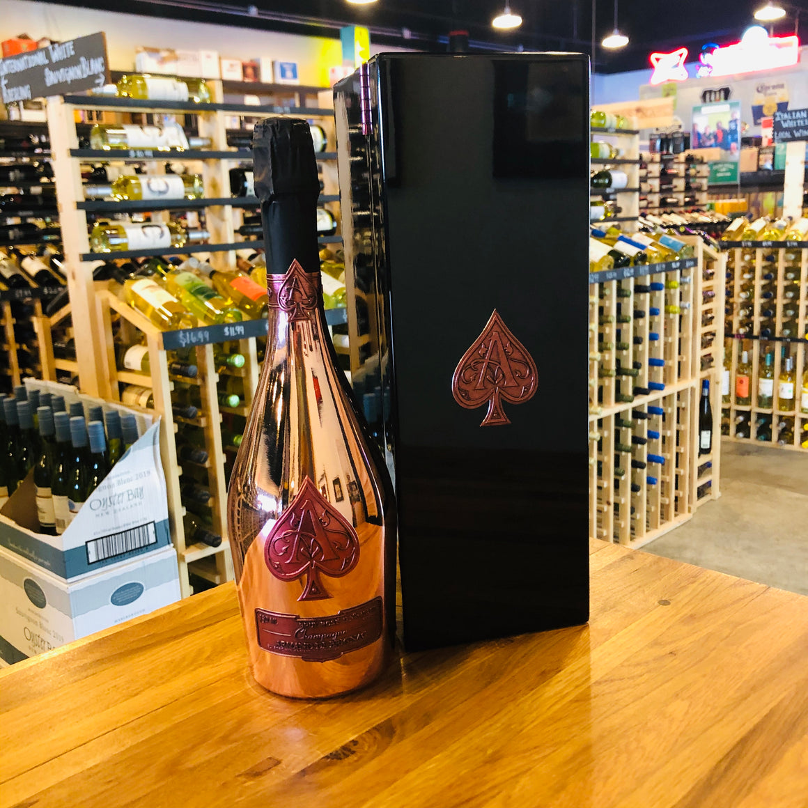 ARMAND DE BRIGNAC ACE OF SPADES BRUT ROSE 750ML