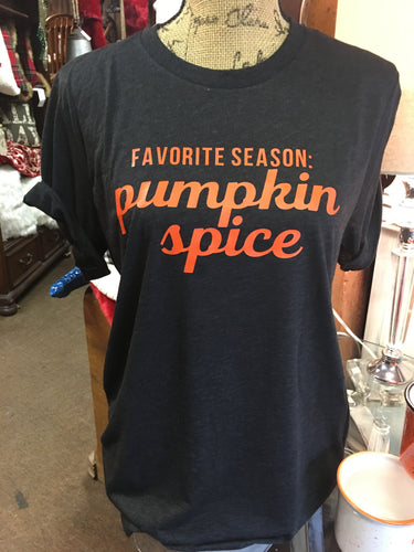 Favorite Season - Pumpkin Spice Tee