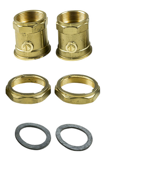 Grundfos Bronze ball valve union set to Suit UPS32 - 505539