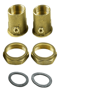 Grundfos Bronze Union valve set To suit UP25/ALPHA2 (519806)