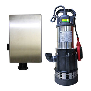 Bianco BIA-B42ACMPCX Submersible Pressure Pump With SK13BA Controller and Wall Mount 0.55KW 240V (805663)