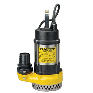 Davey D40M Submersible Drainage Manual Pump 0.4KW 240V