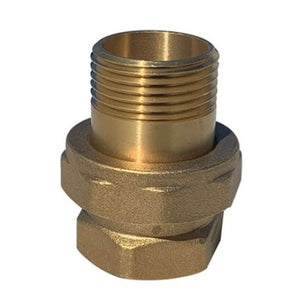 "DAB-UNIONMPCA - Hex Union 1"" M/F Brass (702733)"